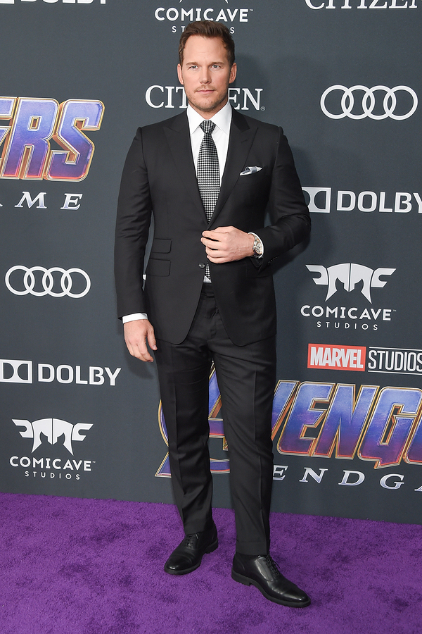 Chris Pratt's height and weight
