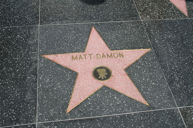 Matt Damon fame