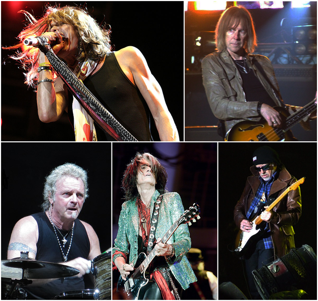 Aerosmith band members