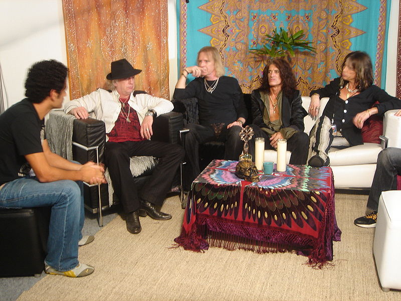 Aerosmith interview