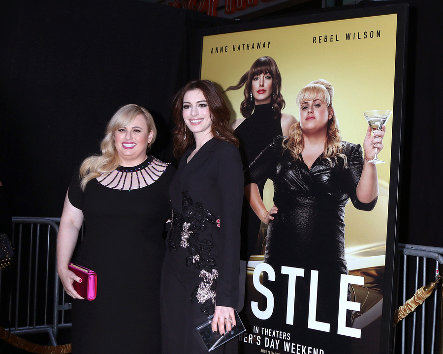 Anne Hathaway and Rebel Wilson