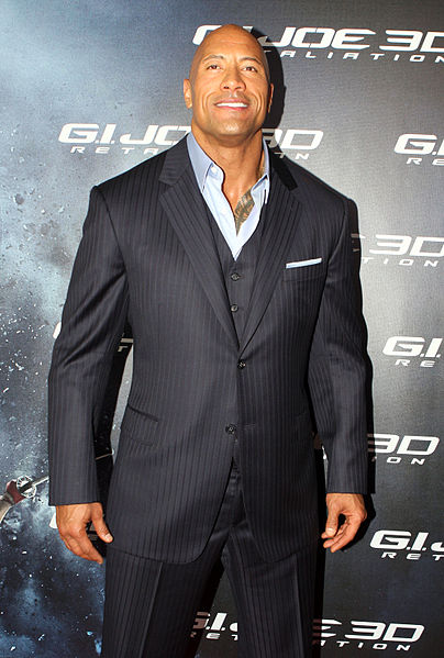 Dwayne Johnson height and weight