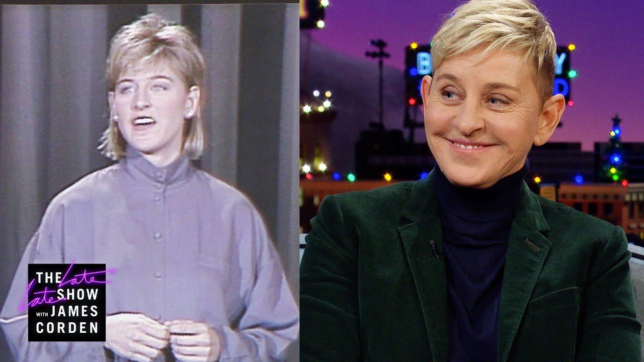 Ellen Degeneres early career