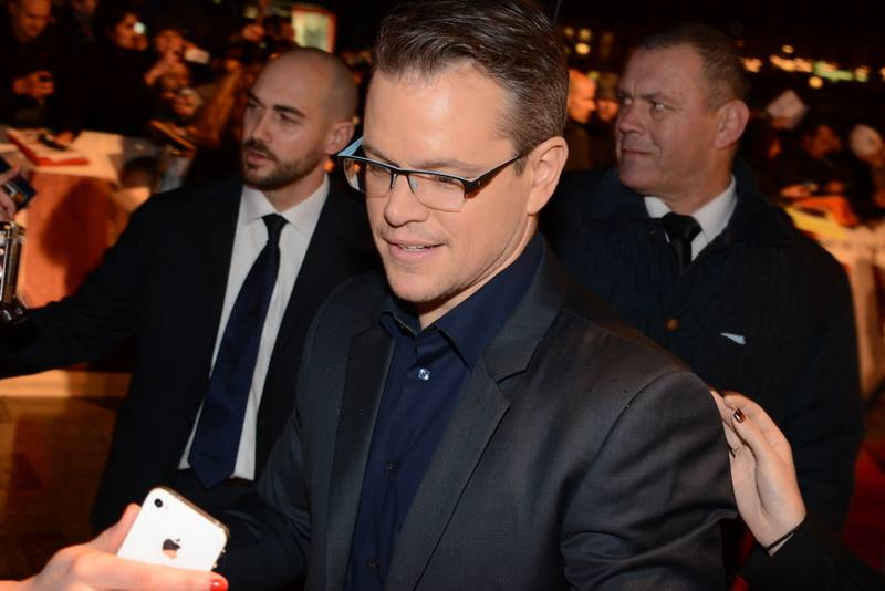 Matt Damon height and weight
