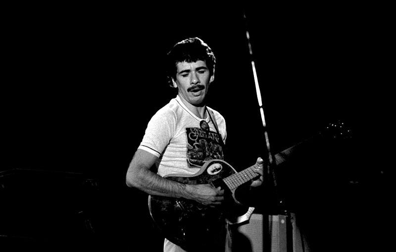 Santana career beginnings