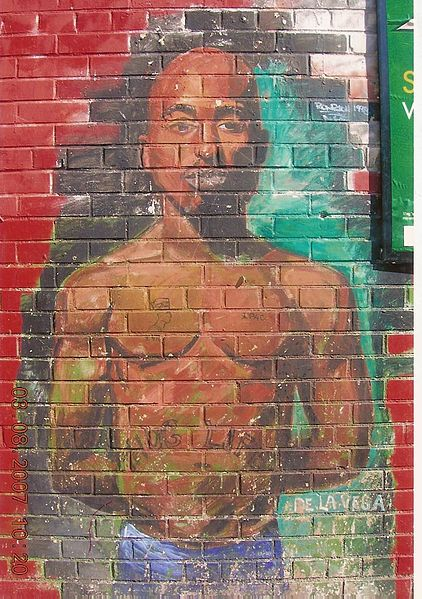 Tupac Shakur graffiti new york