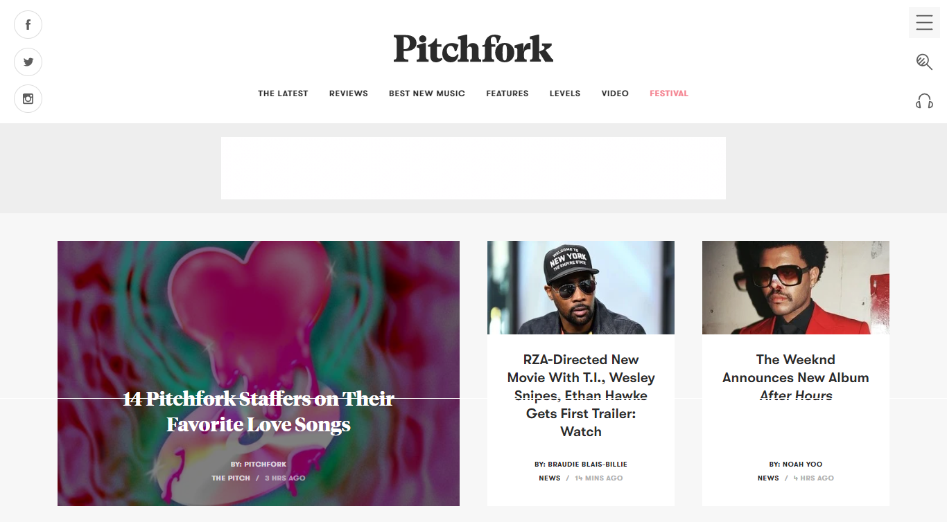 6 of the best music related sites and blogs pitchfork