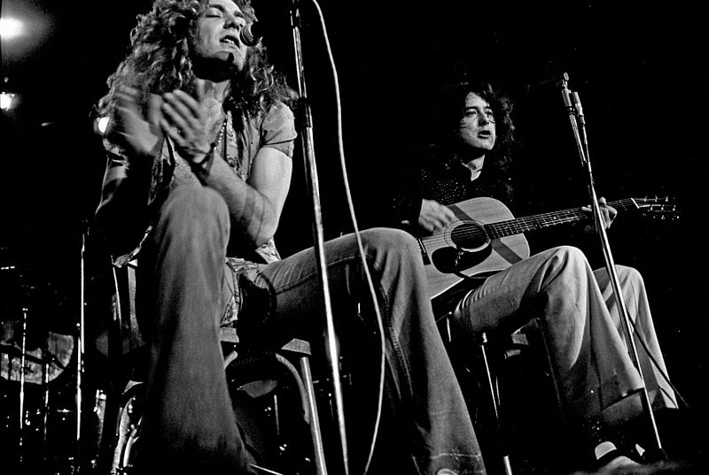 Led Zeppelin early career