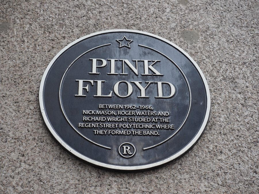 Pink Floyd sign