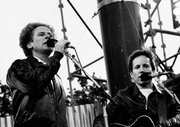 Simon & Garfunkel early career