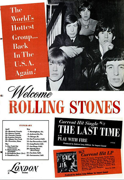 The Rolling Stones career breakthrough