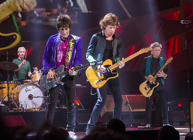 Best artists to see live The Rolling Stones