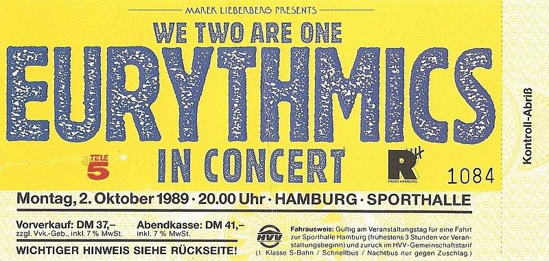 Eurythmics career breakthrough