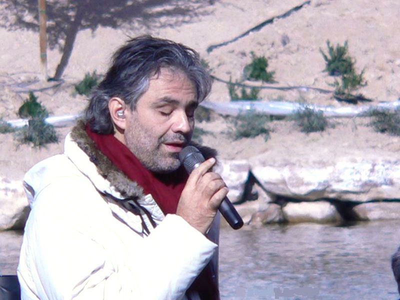 Musicians who got their big break later in life Andrea Bocelli