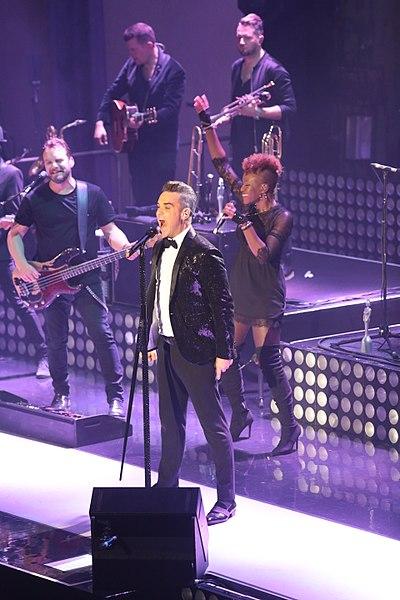 Robbie Williams career breakthrough