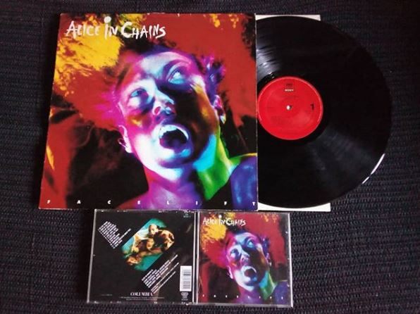 Alice in Chains Facelift album art