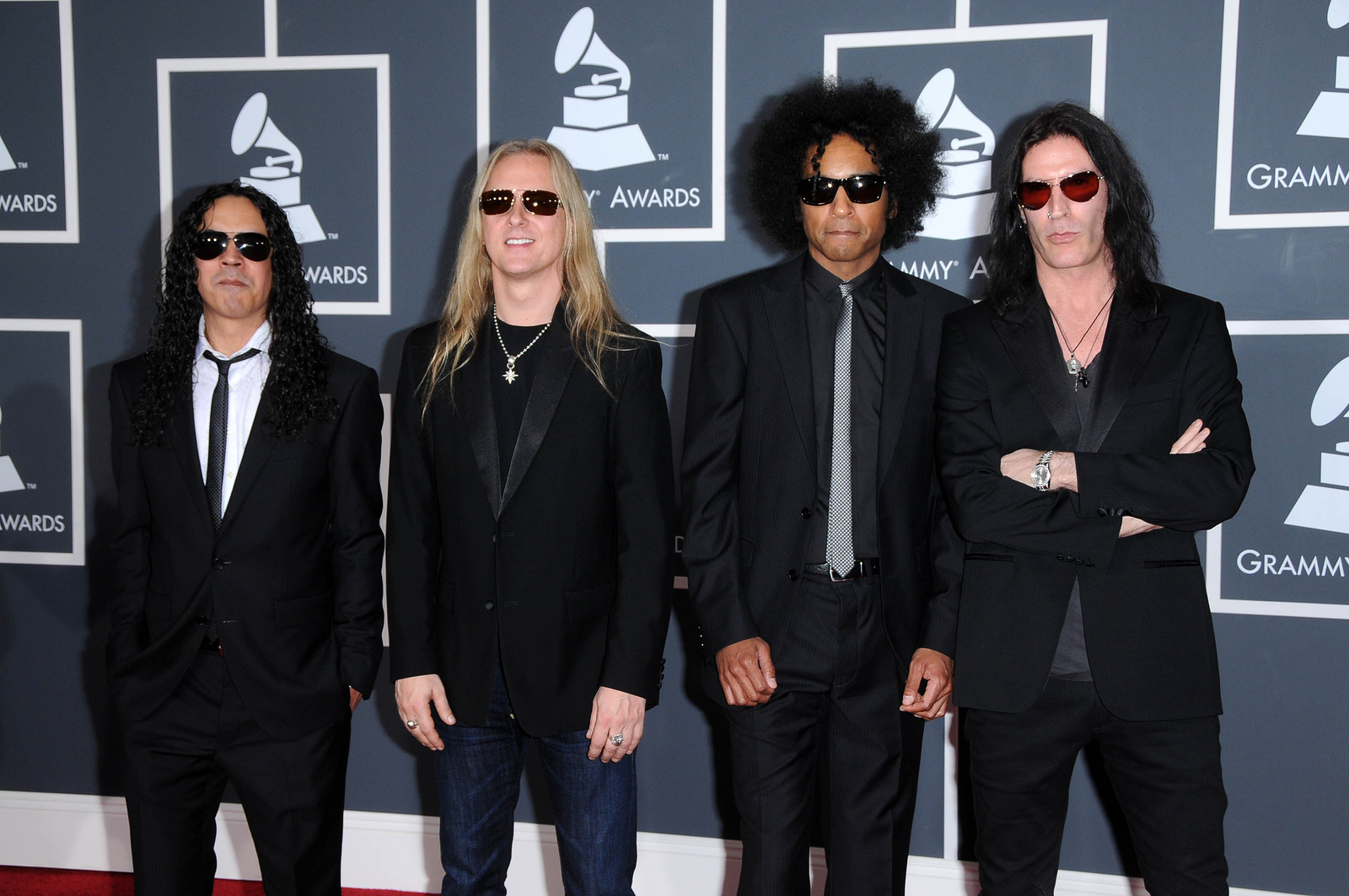 Alice In Chains at the 52nd Annual Grammy Awards