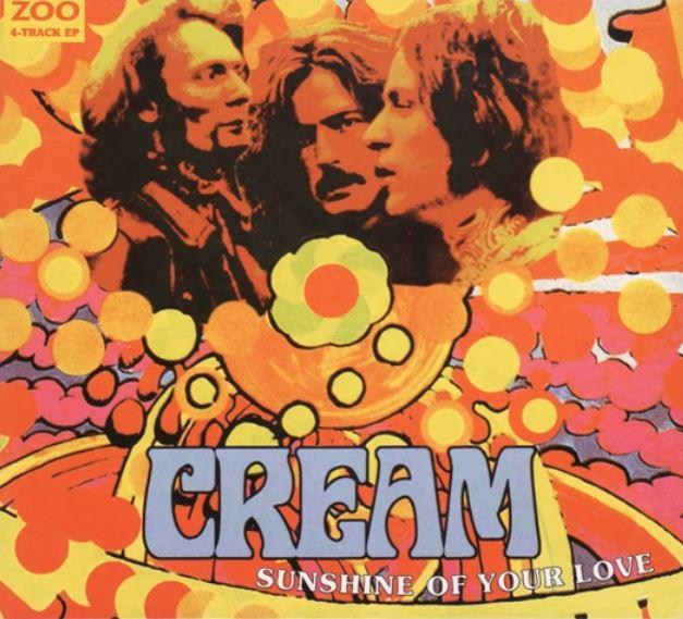 Cream - Sunshine of Your Love album art