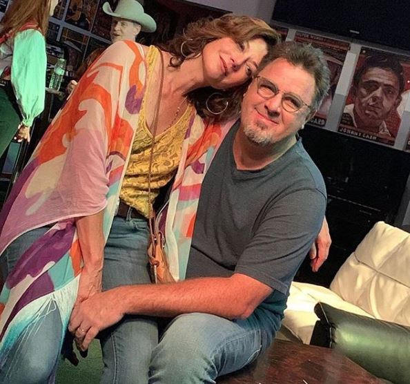 Vince Gill with wife Amy Grant