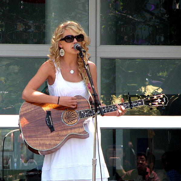 Taylor Swift breakthrough
