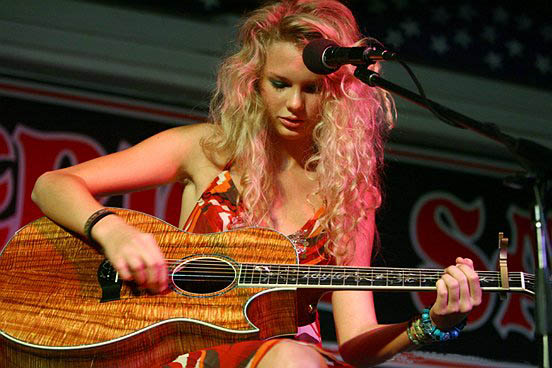 Taylor Swift early career