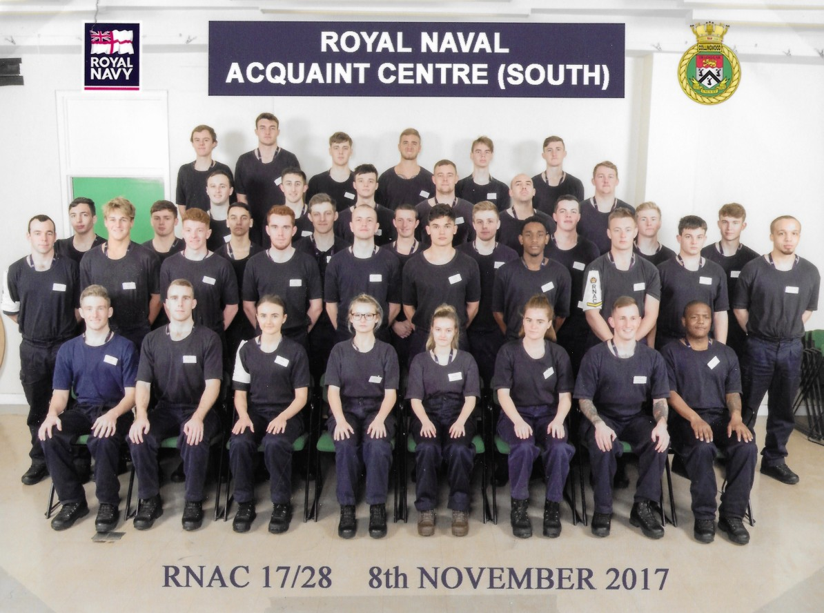 Dan Legg at Royal Navy
