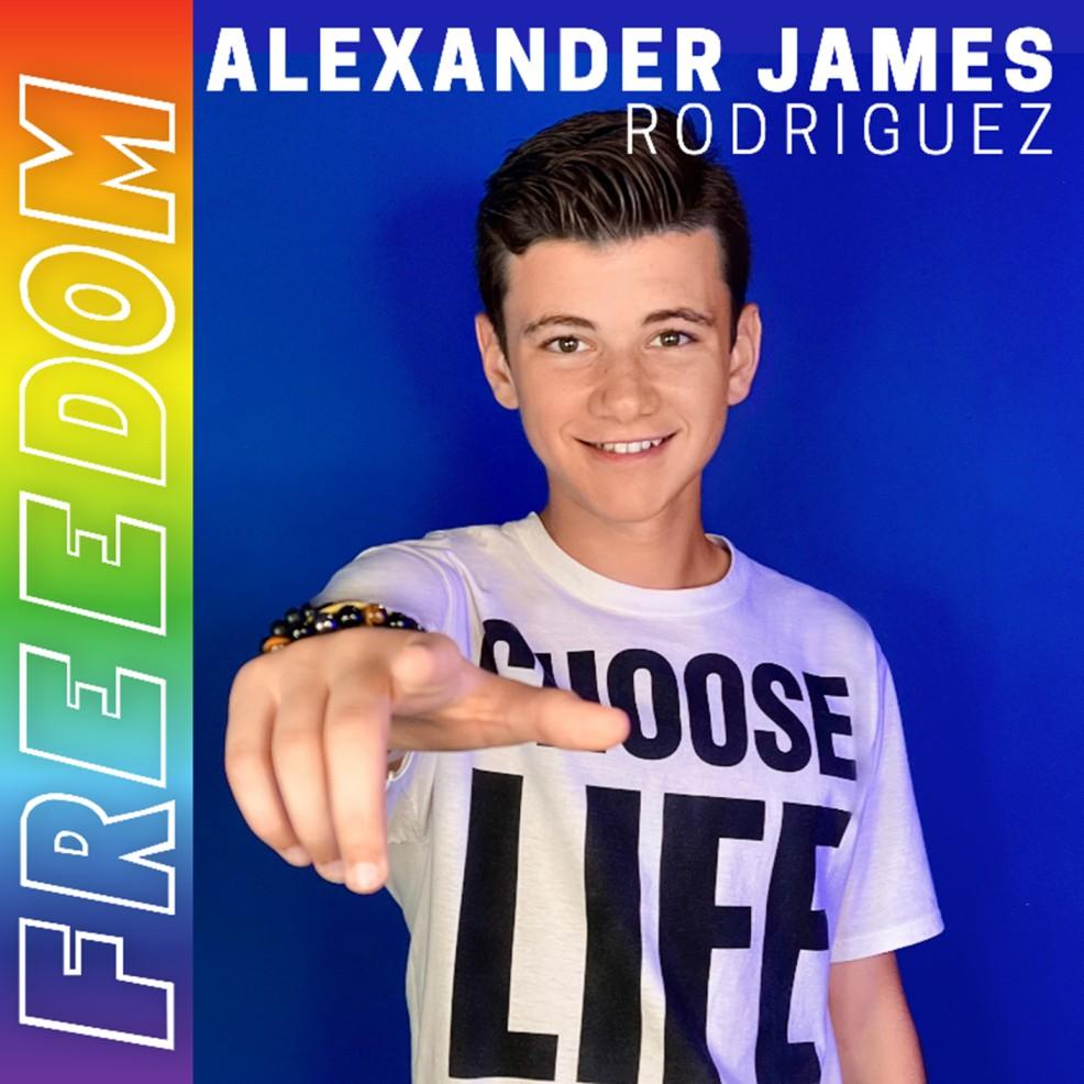 Alexander James Rodriguez Drops 'FREEDOM'